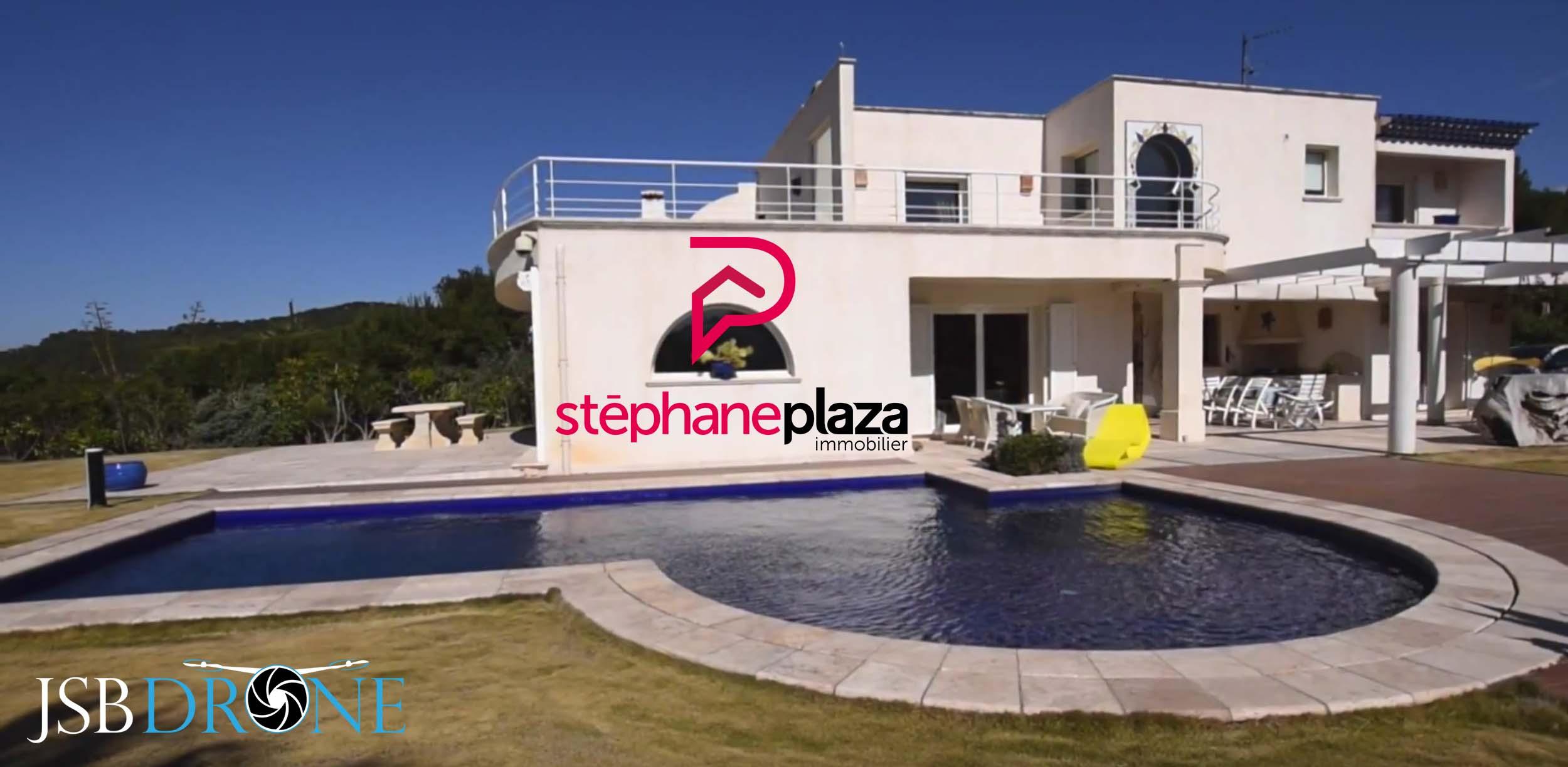 Stephane plaza immobilier maison vue drone