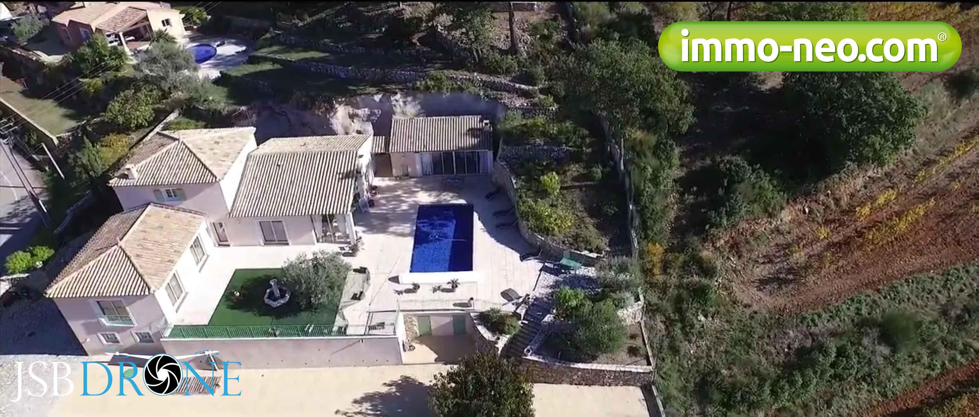 Villa le Beausset jsb-drone